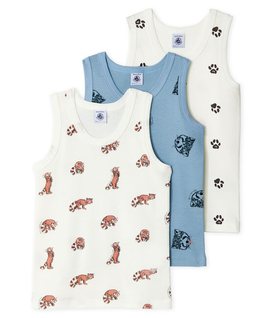 Boys' Vests - 3-Piece Set . set