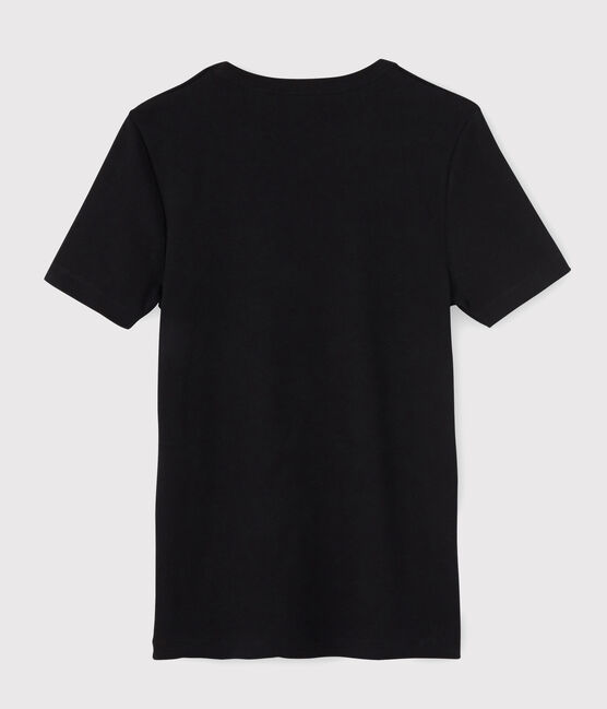 Men's short-sleeved T-shirt Noir black
