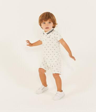 Baby boys' printed polo shirt Shortie