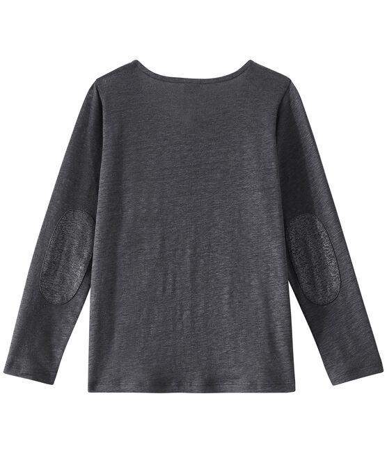Girl's cardigan Maki grey / Argent grey