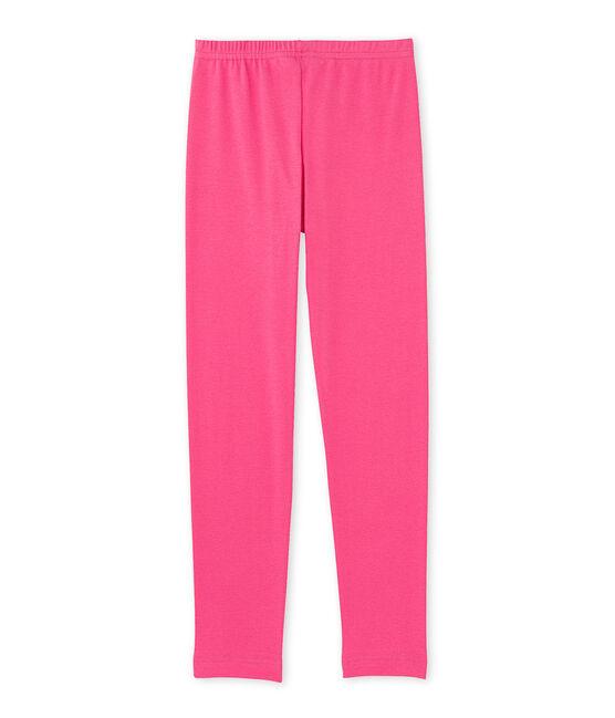 Girls' leggings Peony pink