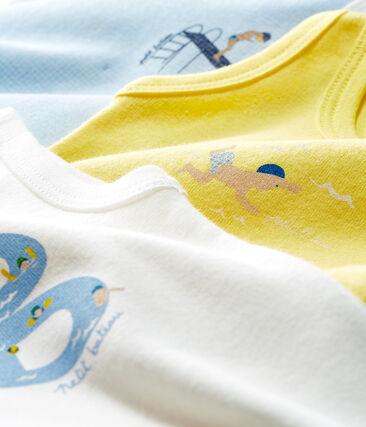 Baby Boys' Sleeveless Bodysuit - Set of 3