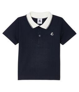 Baby Boys' Short-Sleeved Polo Shirt Smoking blue