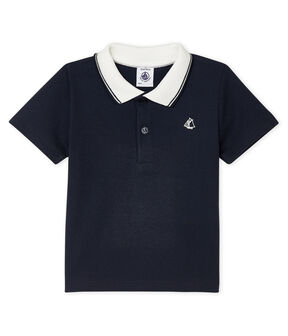 Baby Boys' Short-Sleeved Polo Shirt SMOKING