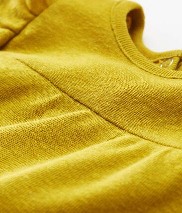 Baby girls' cotton/linen blouse
