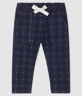 Baby boy's fleece trousers SHADOW/MULTICO