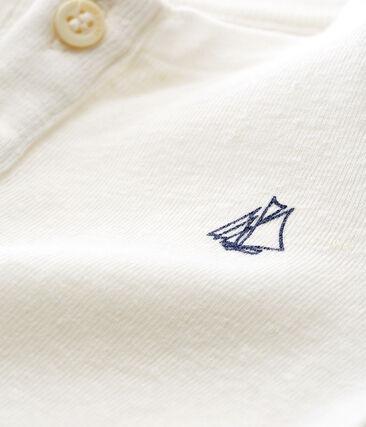 Baby boys' cotton/linen t-shirt