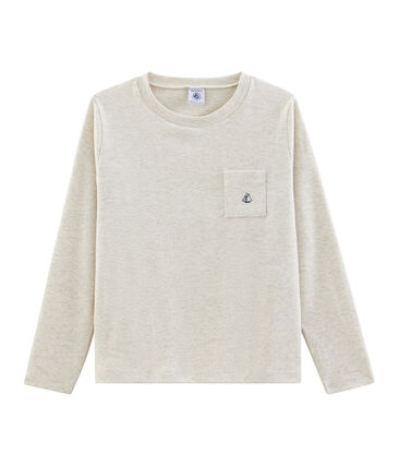 Boys' Long-Sleeved T-shirt Montelimar Chine grey