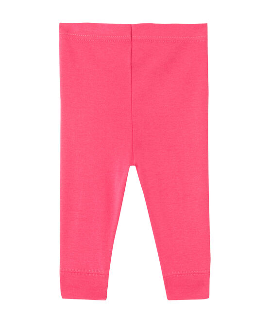 Baby girls' leggings Peony pink