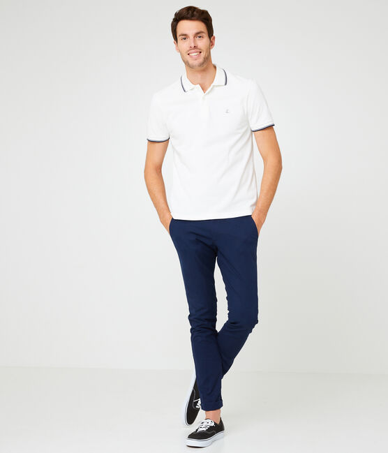 Men's Polo Shirt Marshmallow white