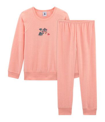 Girls' Pyjamas in Brushed towelling