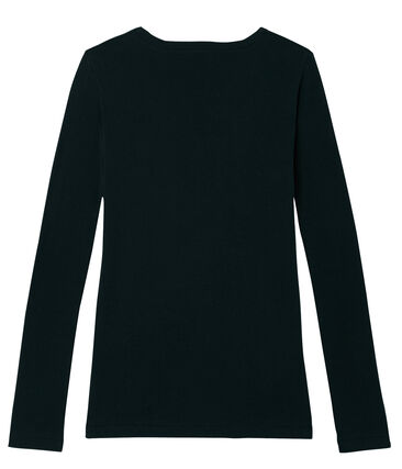 Women's Long-Sleeved Iconic T-Shirt Noir black