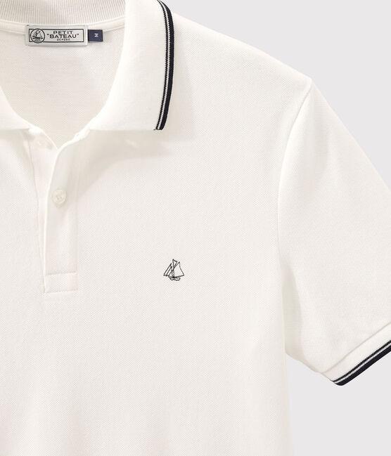 Men's polo shirt Marshmallow white