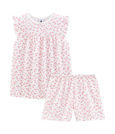 Girls' Fine Cotton short Pyjamas