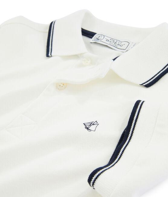 Boys' Polo Shirt Marshmallow white