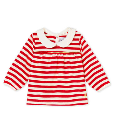 Baby girl's striped blouse