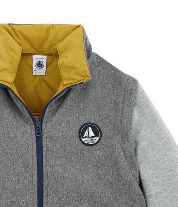 Boy's jacket Inca yellow / Multico white