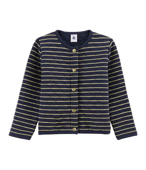 Girls' Tube Knit Cardigan