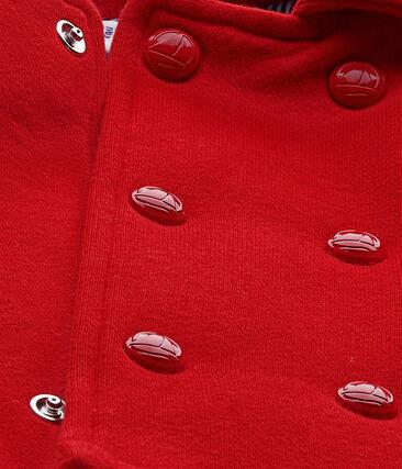 Unisex baby's pea jacket in fleece