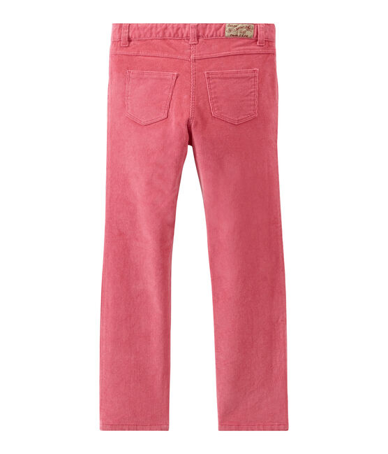 Girl's trousers Cheek pink