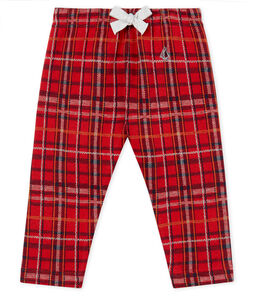 Baby Boys' Checked Knit Trousers