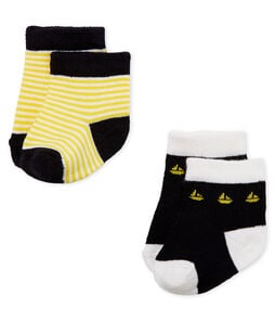 Baby boys' socks - pack of 2