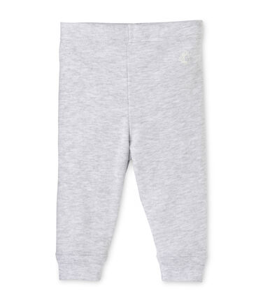 Baby girls' leggings Poussiere Chine grey