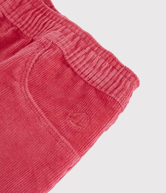 Girls' Velvet Trousers POPPY