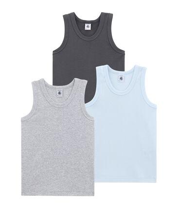 Little boy's vest top trio