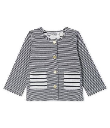 Baby Girls' Striped Knit Cardigan