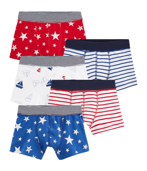 Boys' Boxer Shorts - Set of 5 . set
