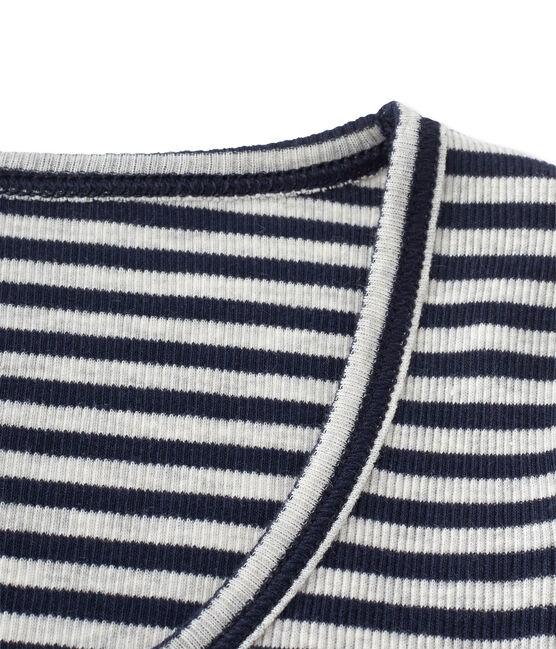Women's Colette bodysuit Smoking blue / Beluga grey