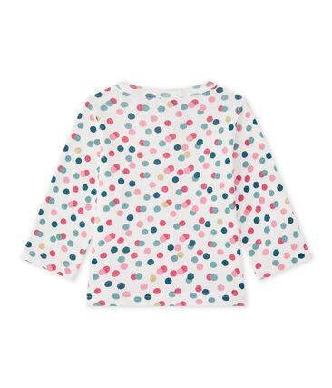 Baby girl's print cardigan