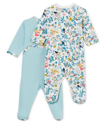 Baby Girls' Sleepsuit - Set of 2