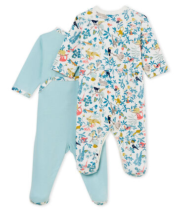 Baby Girls' Sleepsuit - Set of 2
