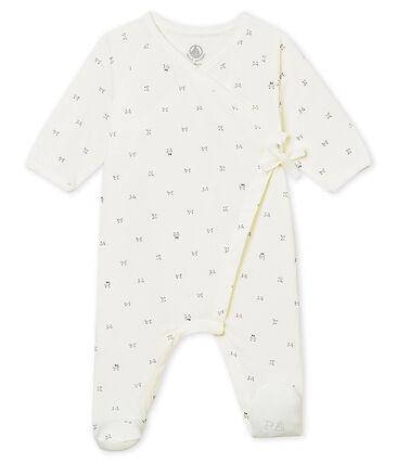 Unisex baby's crossover sleepsuit