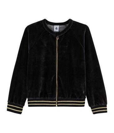 Girls' Cardigan Noir black