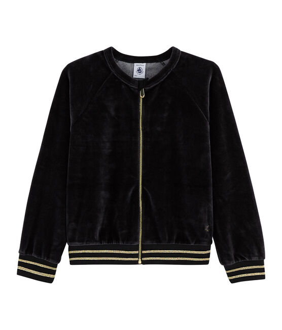 Girls' Cardigan Noir black
