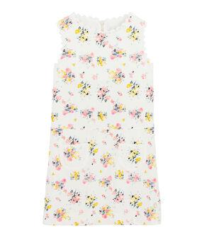 Girls' Formal Dress Marshmallow white / Multico white