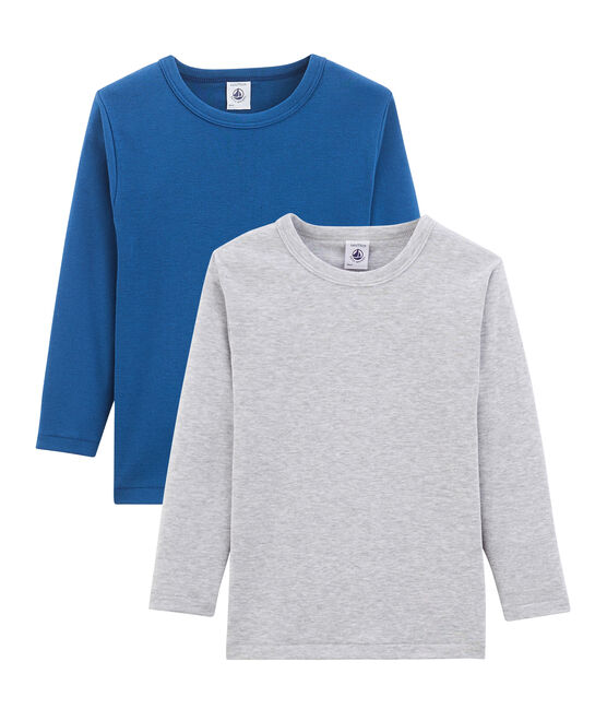 Boys' Long-sleeved T-shirt - Set of 2 . set