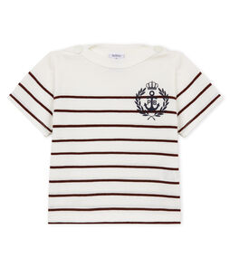 Baby boys' striped t-shirt