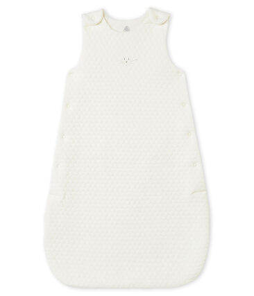 Unisex baby's sleeping bag in a quilted tubic