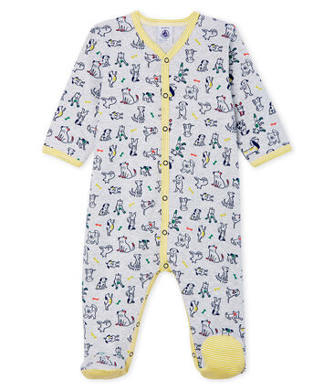 Baby Boys' Ribbed Sleepsuit