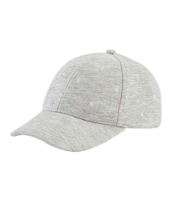 Unisex children's jersey cap Beluga grey