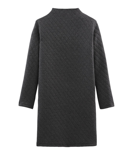 Women's Long-Sleeved Tube Knit Dress City Chine grey