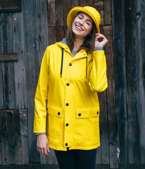Unisex Rain Hat Jaune yellow