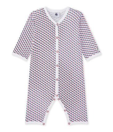 Baby boy's footless sleepsuit