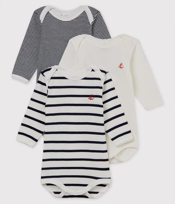 Babies' Long-Sleeved Bodysuit - 3-Piece Set . set