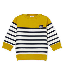 Baby boys' colourblock breton striped Sweatshirt