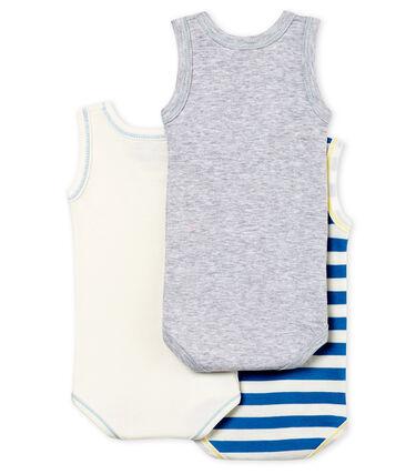 Baby Boys' Sleeveless Bodysuit - Set of 3 . set